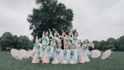舞美人更美!中国舞《丽人行韵》服装道具都好加分