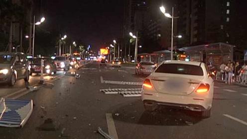 男子连撞4车逃逸,1小时后又返回现场甩锅:车是我妹开的