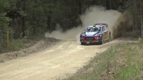 WRC 澳大利亚分站,来自赛车的引擎咆哮-原声