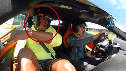 吉米巴特勒体验迈凯伦F1,结果被逼爆粗口,大心脏男人认输了?