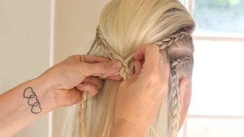 女神出门都这样扎头发,好看到爆了,看好你们的男朋友
