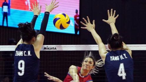 3大主力未上场,中国女排仍零封世锦赛冠军队,她们是怎么做到的