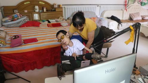 小伙瘫痪29年体重不足40斤 做游戏代练为弟盖房结婚