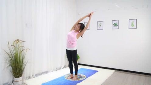 瑜伽教学:每天坚持抬臂3组,放松身体瘦胳膊瘦背