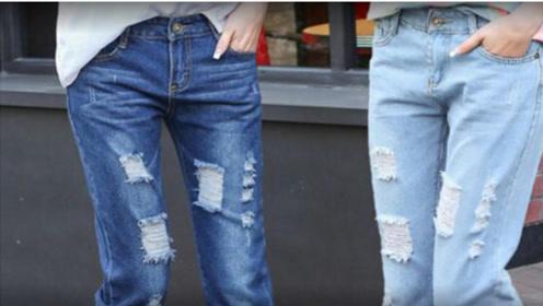 为啥女生穿牛仔裤都不系腰带?不怕裤子脱落吗?答案令人想不到!