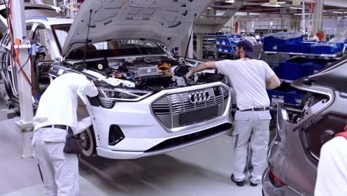 探秘奥迪的比利时布鲁塞尔工厂,看奥迪纯电动SUV是如何制造的