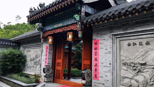 广东水口发现一豪宅,仿北京四合院结构建造,气派非凡!