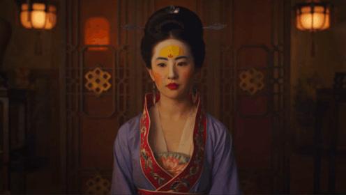 《花木兰》刘亦菲打戏酷似章子怡,看到妆容惊呆了,网友:辣眼睛