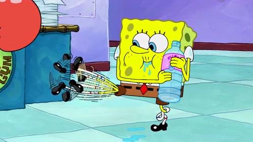 海绵宝宝:海绵宝宝想要健身变猛男