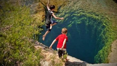 世界第一死亡洞,一年夺去几十条生命,却还有人抢着往下跳!