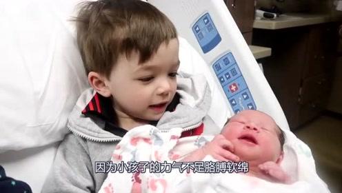 新生宝宝可爱吸引人,但这3类人想抱宝宝时,宝妈要懂得拒绝