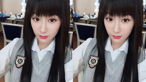 杨紫晒长发佟年定妆照 网友称:长发短发总相宜