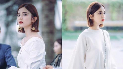 娜扎大胆尝试多样风格,变身霸气女总裁,玩转职场时尚新风尚