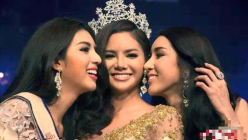 泰国变性人选美大赛冠军诞生:27岁学生 身高1米8