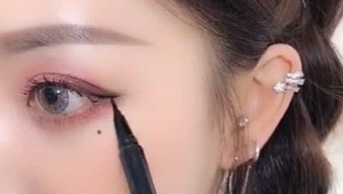 女孩子酷一点怎么了,眼线就该这么画,漂亮!