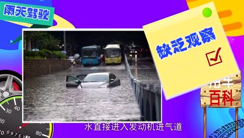 用车百科-雨季来临如何驾驶更安全?