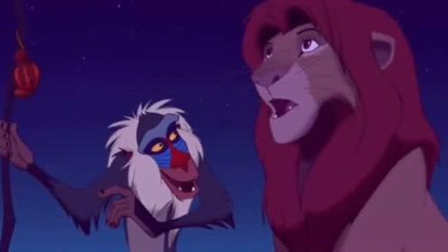 这个神猴好厉害,一句话让辛巴醒悟,他要重新夺回皇位