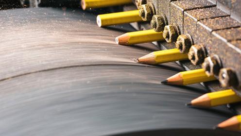 """铅笔芯究竟是怎么""""塞进""""木头里的?用了这么多年,终于明白了!"""
