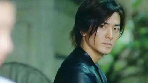 一个华人男星中留长发最帅的男人郑伊健