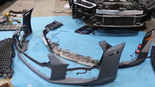 手把手教你如何买到便宜的事故奥迪R8,并修复它!第七集