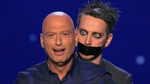 奇葩男用胶带封嘴,表演形体艺术,男评委:这也太真实了!