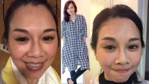 昔日TVB女神陈松伶如今完全认不出?