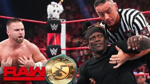 RAW1368期: 卡梅拉拖真理哥夺回冠军 后遭伊莱亚斯偷袭