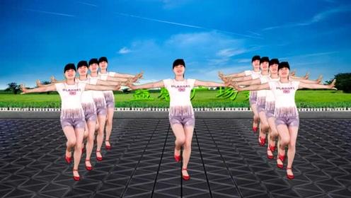 热门广场舞《女人没有错》简单好看又时尚
