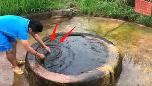 """安徽小伙挖出""""龙眼井"""",水不断溢出井外,井里出现""""怪异生物"""""""