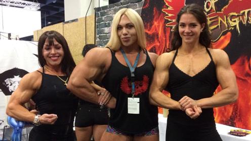 """女子沉迷健身14年,如今满身都是""""肌肉"""",常人根本不敢靠近"""