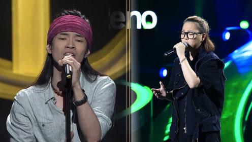 王文芳李博同唱《孤独的自由》,高亢嗓音唱出心底的呐喊