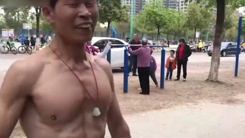 中国70岁大爷太牛了,牛不牛自己看,体脂率年轻人自愧不如