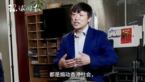 胡锡进接受CNN采访2