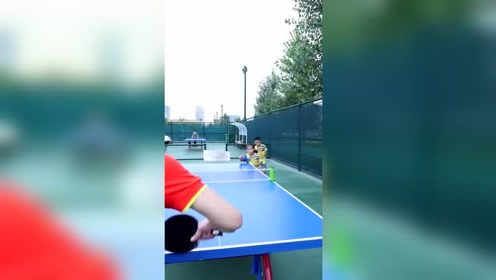 乒乓球少年,未来的希望