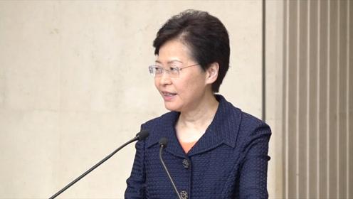 谈到深圳建示范区 林郑月娥笑着回应:对深港关系有好的作用