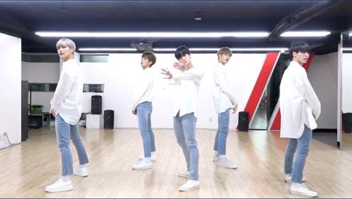 CIX-《Movie Star》特别练习室舞蹈,白衬衫校园风