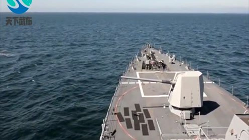 距离战争更近了,伊朗表示决不投降,将用新型武器击沉美国舰队