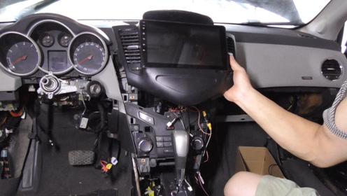 安装中控导航,仪表和空调面板,泡水这么严重,还能用吗?