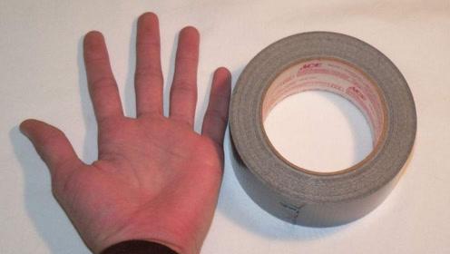 今天才知道,徒手撕胶带,比用剪刀还要方便,方法简单快试试