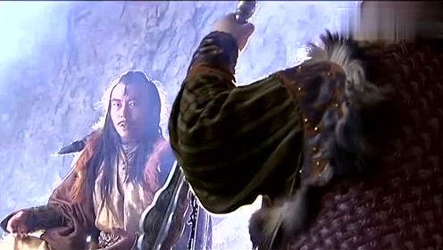 杨过彻底黑化,为了能报杀父之仇,决定联手江湖恶人金轮法王