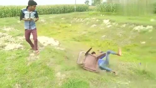 印度搞笑兄弟,你们这玩的真是太绝了,逗比啊!