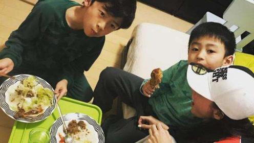 张柏芝凌晨为儿子做早餐,盘中食物暴露生活状态,谢霆锋难受吗?