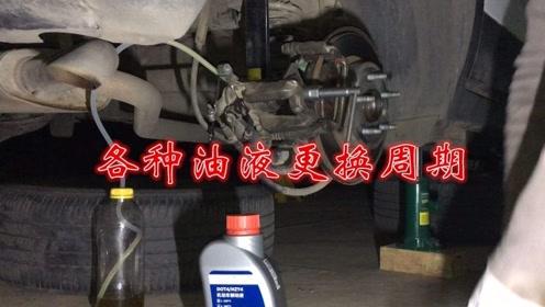 车上这些油液的更换周期,你都知道多少?新手了解一下