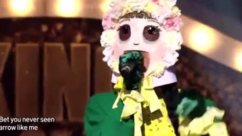 周洁琼参加韩国版的蒙面歌王,一开口这实力秒杀全场!