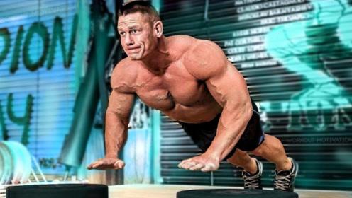 摔跤界最强肌肉男!近期突然肌肉暴涨,比强森还大一圈!