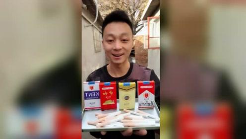 """""""香烟糖""""童年的记忆,小伙吃出了幸福的味道"""