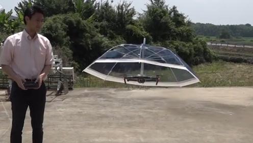 日本最奇葩的设计,无人机加上雨伞,是来搞笑的吗?