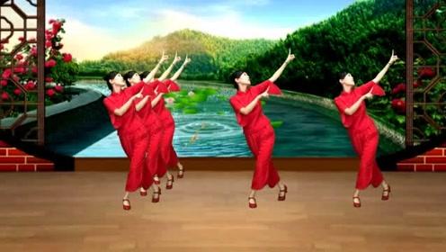 经典黄梅戏《女驸马》谁料皇榜中状元,24步戏曲广场舞