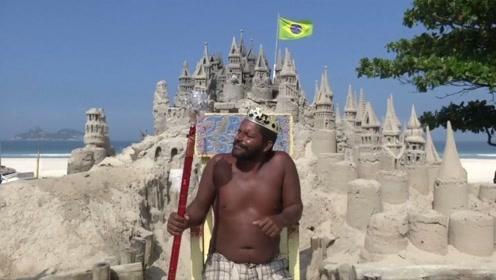 """世界上混的最惨的""""国王"""",领土只有4平米,每天靠合影过日子!"""