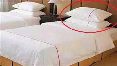 为什么酒店单人床要摆放两个枕头?